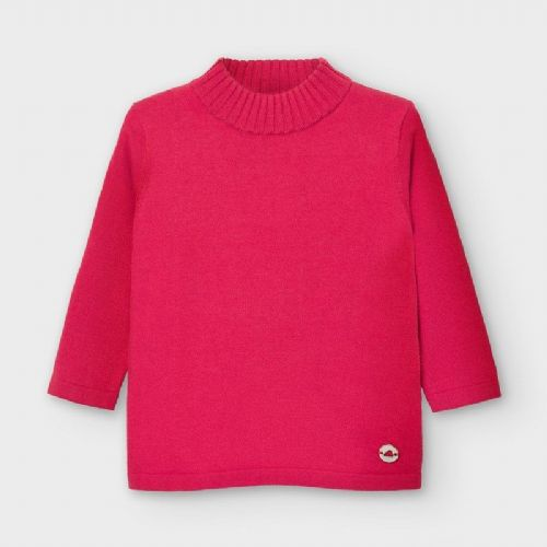 Coral High Neck Jumper with Long Sleeve 6 Months